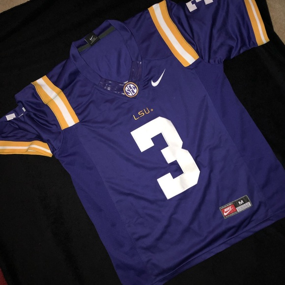 cheap for discount 3a845 deb84 Nike -Odell Beckham Jr.- LSU Jersey 🔥
